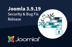 joomla 3.9.19 security + bugfix release